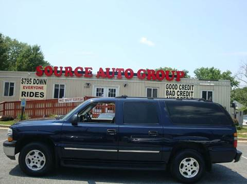 2004 Chevrolet Suburban for sale at Source Auto Group in Lanham MD