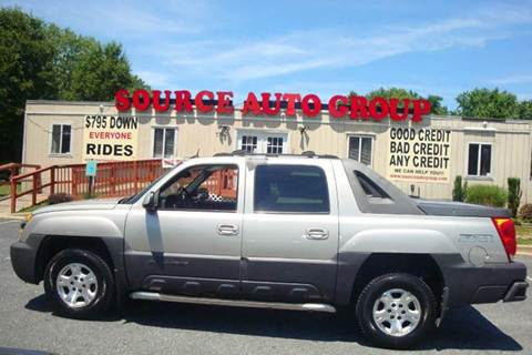 2004 Chevrolet Avalanche for sale at Source Auto Group in Lanham MD