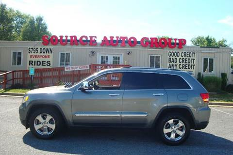 2011 Jeep Grand Cherokee for sale at Source Auto Group in Lanham MD