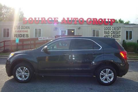 2013 Chevrolet Equinox for sale at Source Auto Group in Lanham MD