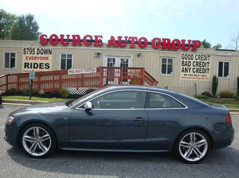 2010 Audi S5 for sale at Source Auto Group in Lanham MD