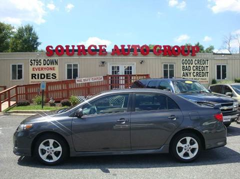 2013 Toyota Corolla for sale at Source Auto Group in Lanham MD