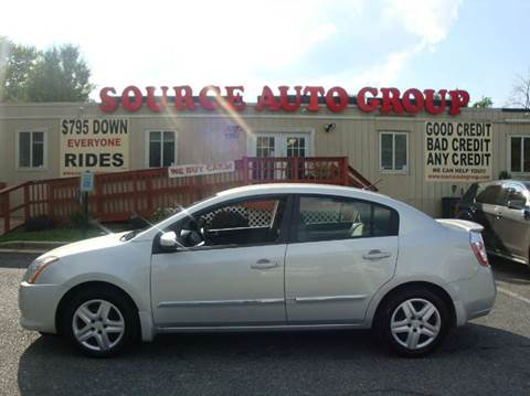 2012 Nissan Sentra for sale at Source Auto Group in Lanham MD