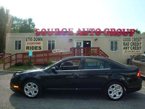 2010 Ford Fusion for sale at Source Auto Group in Lanham MD