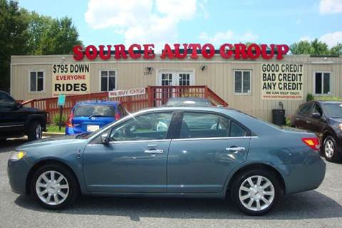 2011 Lincoln MKZ for sale at Source Auto Group in Lanham MD
