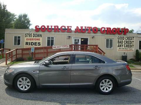 2011 Ford Taurus for sale at Source Auto Group in Lanham MD