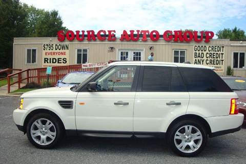 2006 Land Rover Range Rover Sport for sale at Source Auto Group in Lanham MD