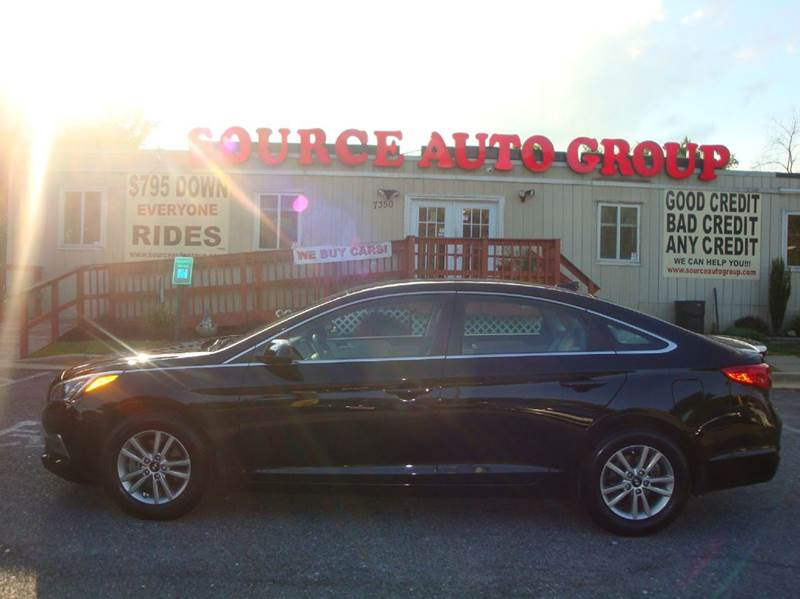2015 Hyundai Sonata for sale at Source Auto Group in Lanham MD
