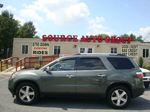 2011 GMC Acadia for sale at Source Auto Group in Lanham MD
