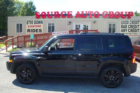 2015 Jeep Patriot for sale at Source Auto Group in Lanham MD