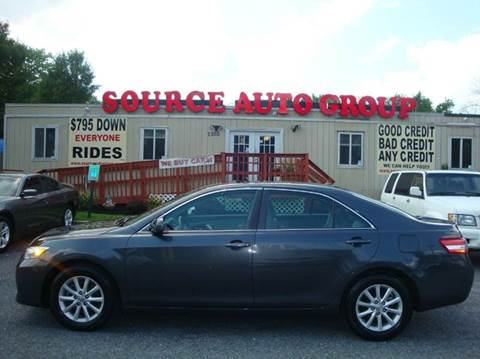 2011 Toyota Camry for sale at Source Auto Group in Lanham MD