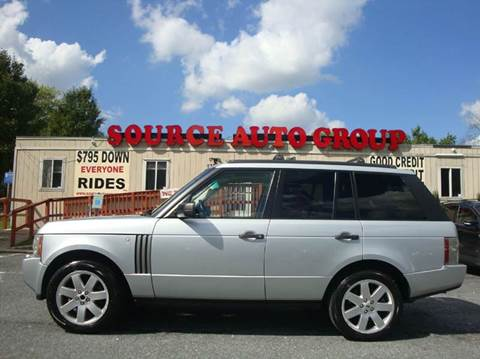 2007 Land Rover Range Rover for sale at Source Auto Group in Lanham MD
