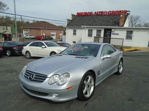 2006 Mercedes-Benz SL-Class for sale at Source Auto Group in Lanham MD