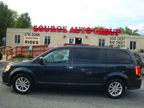 2014 Dodge Grand Caravan for sale at Source Auto Group in Lanham MD