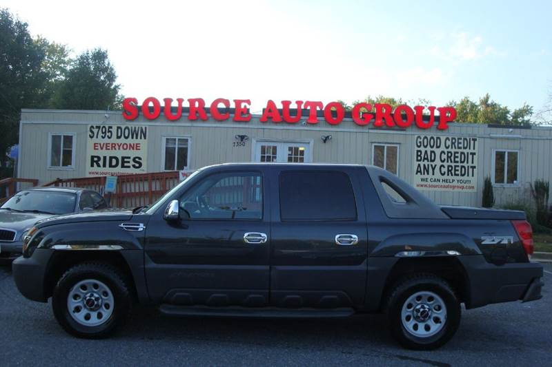2003 Chevrolet Avalanche for sale at Source Auto Group in Lanham MD