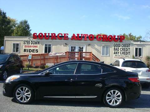 2013 Hyundai Azera for sale at Source Auto Group in Lanham MD