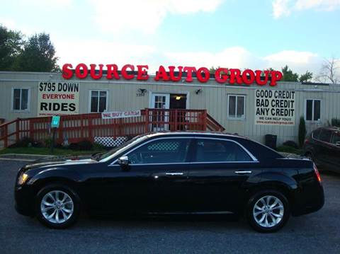 2012 Chrysler 300 for sale at Source Auto Group in Lanham MD
