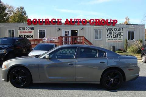 2012 Dodge Charger for sale at Source Auto Group in Lanham MD