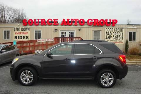 2014 Chevrolet Equinox for sale at Source Auto Group in Lanham MD