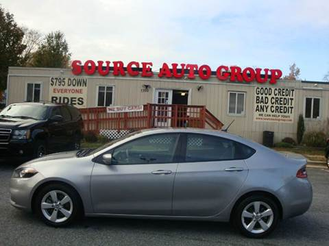 2015 Dodge Dart for sale at Source Auto Group in Lanham MD