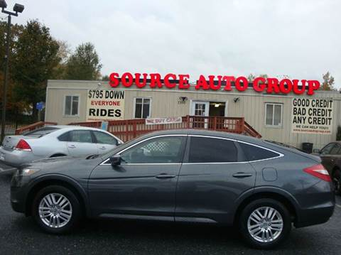 2012 Honda Crosstour for sale at Source Auto Group in Lanham MD