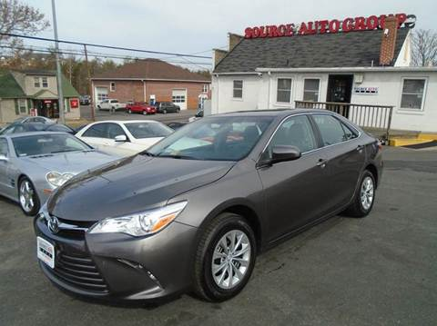 2017 Toyota Camry for sale at Source Auto Group in Lanham MD