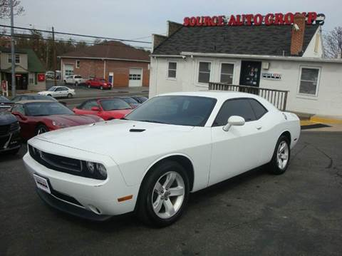 2013 Dodge Challenger for sale at Source Auto Group in Lanham MD