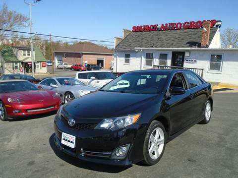 2013 Toyota Camry for sale at Source Auto Group in Lanham MD