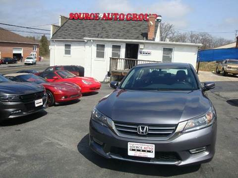 2013 Honda Accord for sale at Source Auto Group in Lanham MD