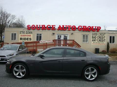 2016 Dodge Charger for sale at Source Auto Group in Lanham MD
