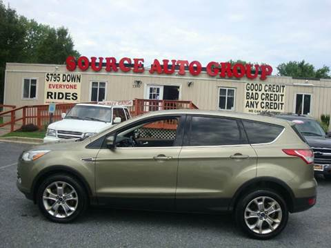 2013 Ford Escape for sale at Source Auto Group in Lanham MD