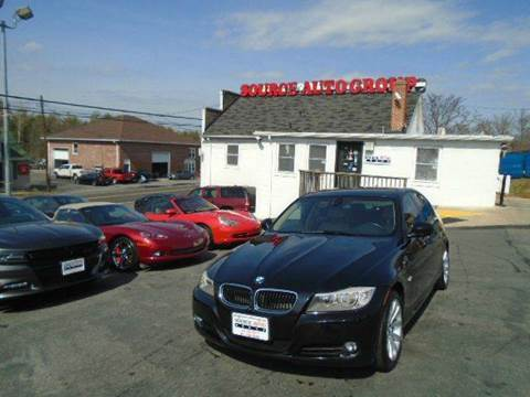 2011 BMW 3 Series for sale at Source Auto Group in Lanham MD