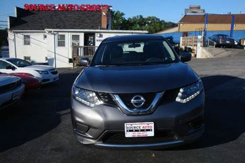 2016 Nissan Rogue for sale at Source Auto Group in Lanham MD