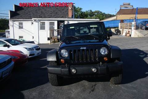 2009 Jeep Wrangler for sale at Source Auto Group in Lanham MD