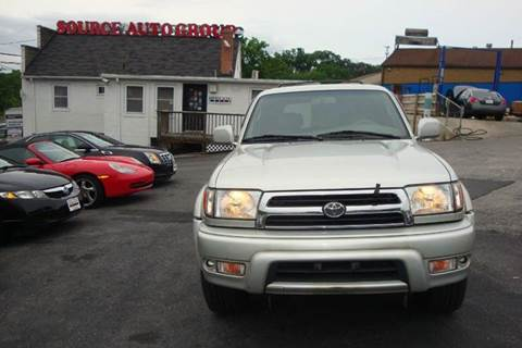 2000 Toyota 4Runner for sale at Source Auto Group in Lanham MD