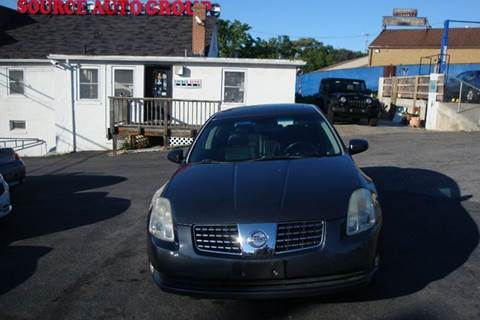 2006 Nissan Maxima for sale at Source Auto Group in Lanham MD