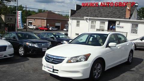 2012 Honda Accord for sale at Source Auto Group in Lanham MD