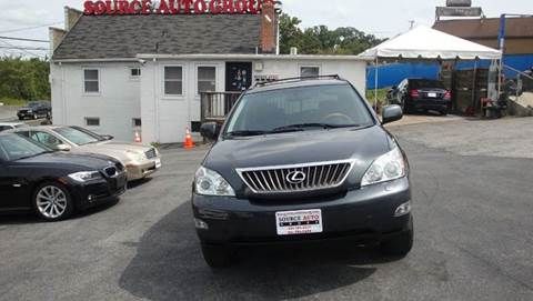 2008 Lexus RX 350 for sale at Source Auto Group in Lanham MD