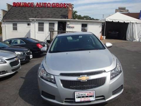 2014 Chevrolet Cruze for sale in Lanham, MD