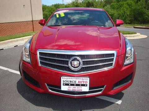 2013 Cadillac ATS for sale at Source Auto Group in Lanham MD