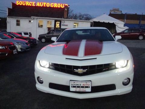2013 Chevrolet Camaro for sale at Source Auto Group in Lanham MD