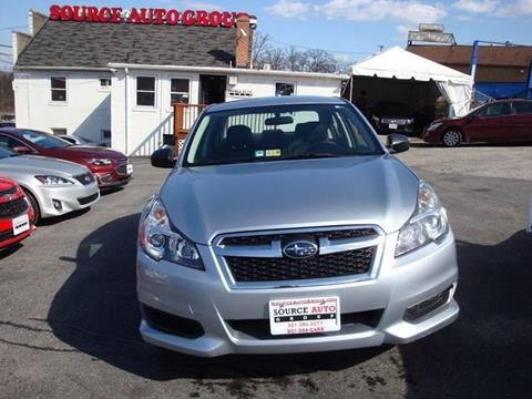 2014 Subaru Legacy for sale at Source Auto Group in Lanham MD