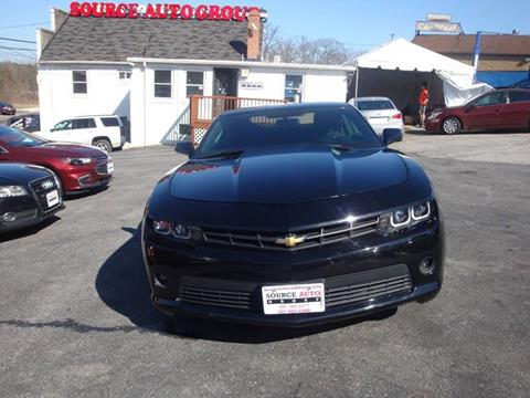 2015 Chevrolet Camaro for sale at Source Auto Group in Lanham MD