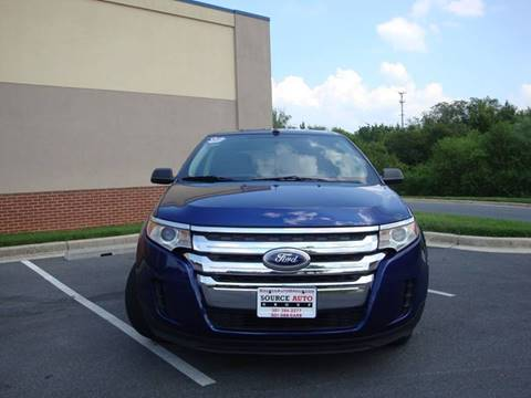 2014 Ford Edge for sale at Source Auto Group in Lanham MD