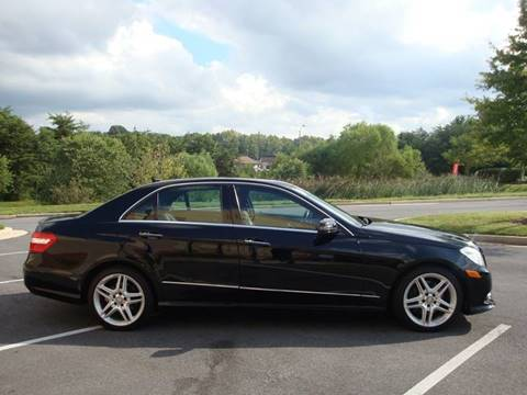 2013 Mercedes-Benz E-Class for sale at Source Auto Group in Lanham MD