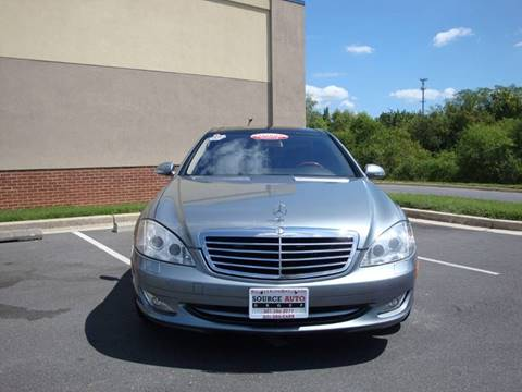2008 Mercedes-Benz S-Class for sale at Source Auto Group in Lanham MD