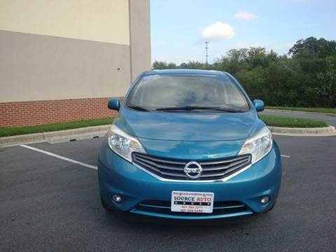 2014 Nissan Versa Note for sale at Source Auto Group in Lanham MD