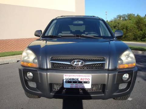 2009 Hyundai Tucson for sale at Source Auto Group in Lanham MD