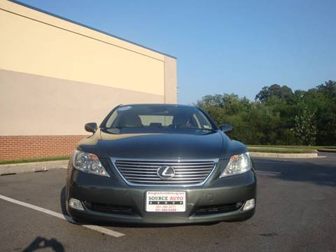 2007 Lexus LS 460 for sale at Source Auto Group in Lanham MD