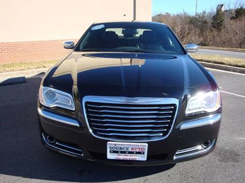 2013 Chrysler 300 for sale at Source Auto Group in Lanham MD